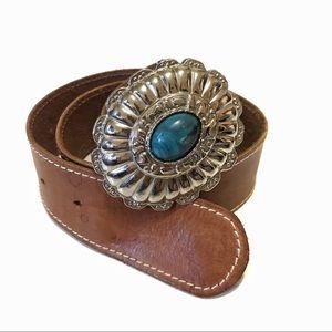 Vintage | Genuine Leather Boho Belt